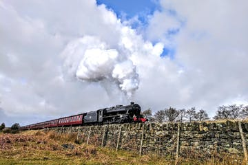 Steam Trains, Whitby & the Moors