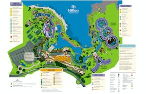 Hilton Waikoloa Vilalge Resort Map