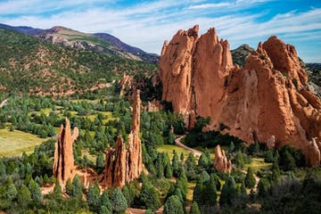 Scenery of Garden of the Gods