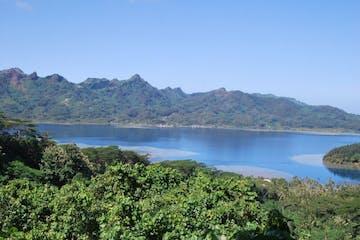 Tahiti landscape