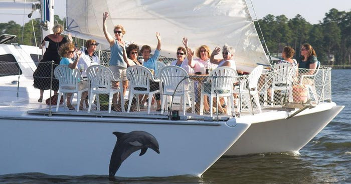 Cetacean Cruises | Sailing & Dolphin Cruises Gulf Shores and