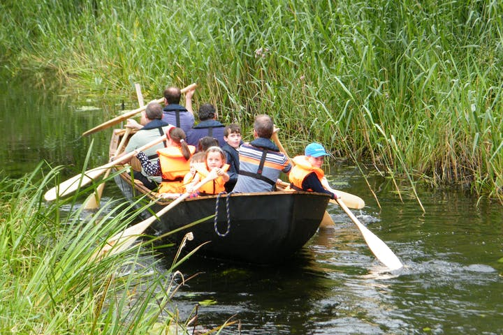 Boyne Boats paddling tour