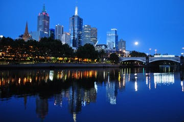 A look at Melbourne during the night