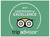 TripAdvisor Cert of Excellence 2017