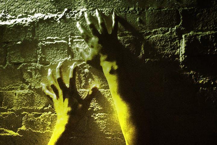 Damp demon hands