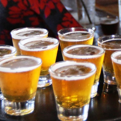 Beer tasting in San Diego