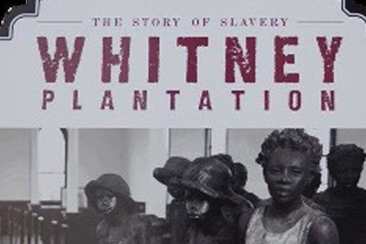 whitney plantation sign