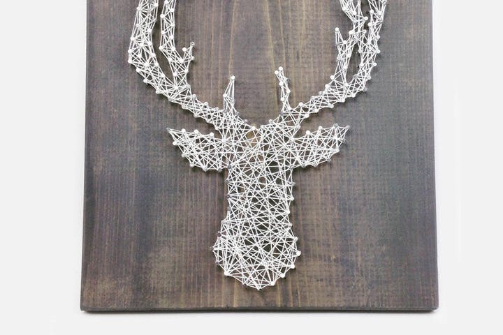 Rustic Nail String Art Diy Craftery Lounge