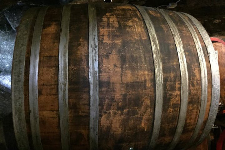 barrel of wine