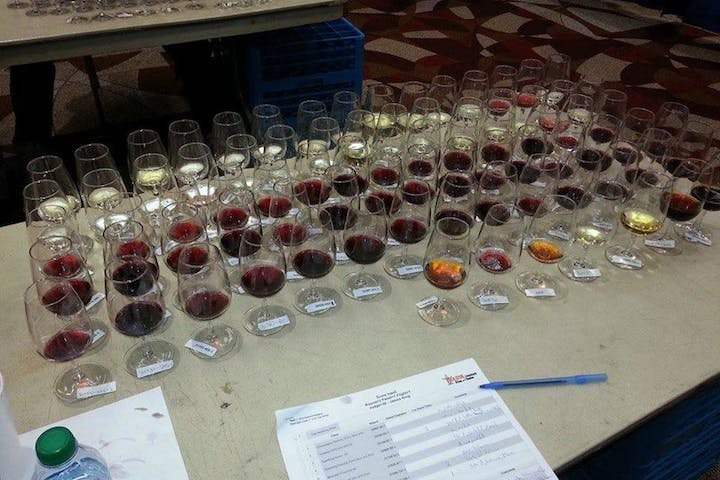 wine tasting exam texas wine school