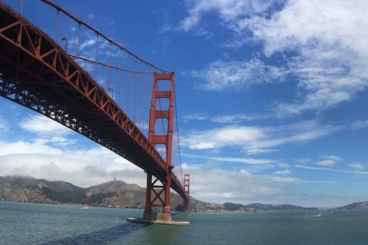 4e90ce23f1 Golden Gate Bridge Movie Sights Tour   San Francisco Movie Tours