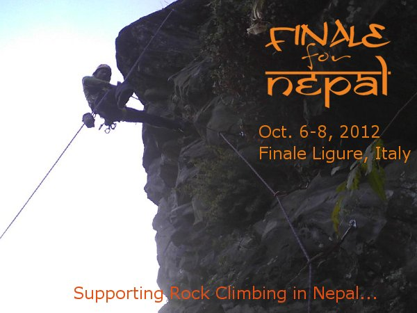Finale for Nepal Rock Climbing Event supports Nepal