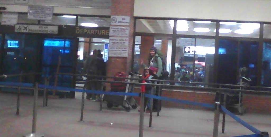 kathmandu airport departure