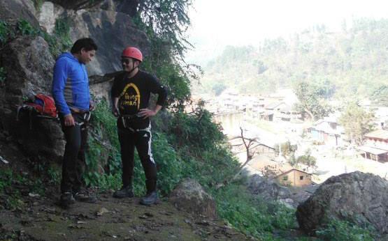 Hardcore Nepal Earthquake Update Ram Chandra BK at Bimal Nagar Dhading