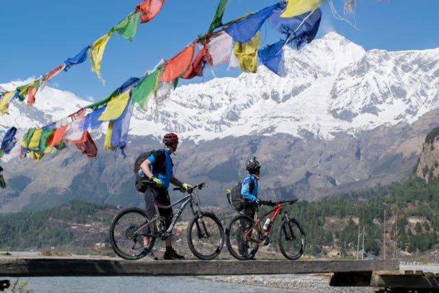 things to do in nepal - mountain biking