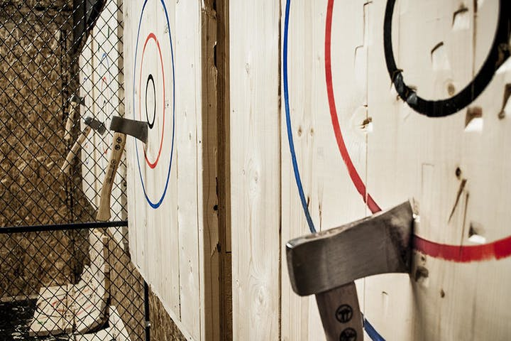 Group Axe Throwing Experience