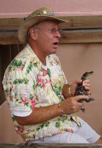 Captain Bob with a gator