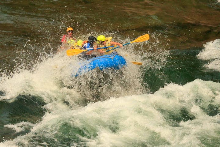 White Water River Rafting BC | Riverside Adventures | Wells Gray