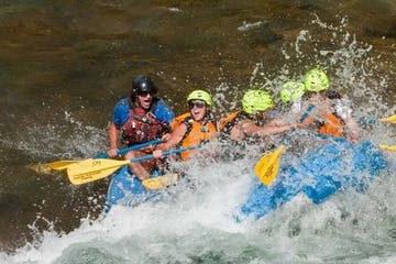 Whitewater River Rafting in Wells Gray Provincial Park