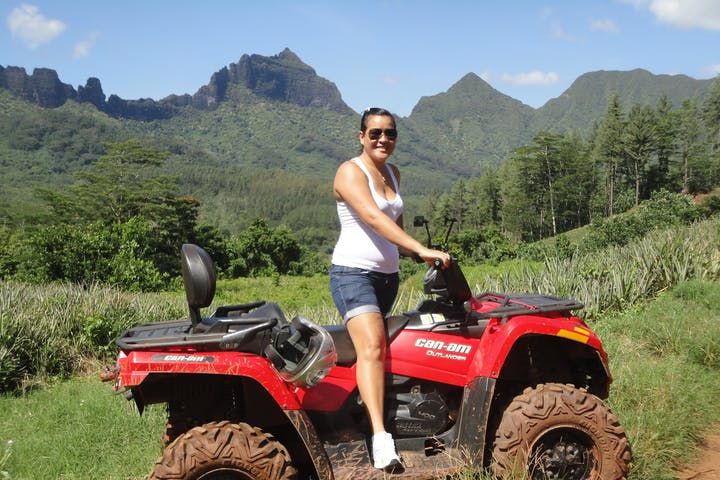 ATV tour moorea