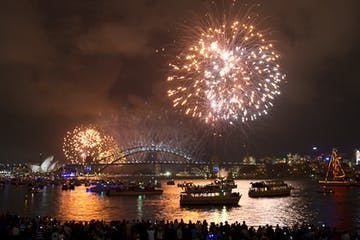 Destination NSW fireworks