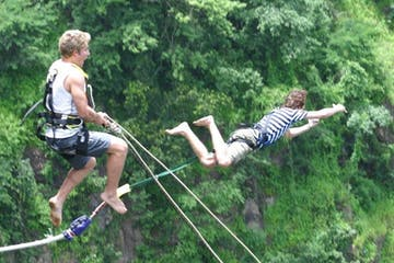 Bridge Swing in Victoria Falls