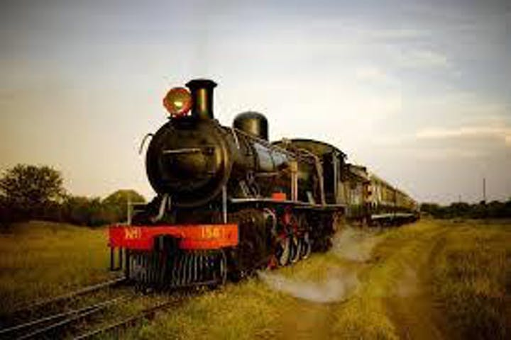 Victoria Falls Steam Train Dinner Image
