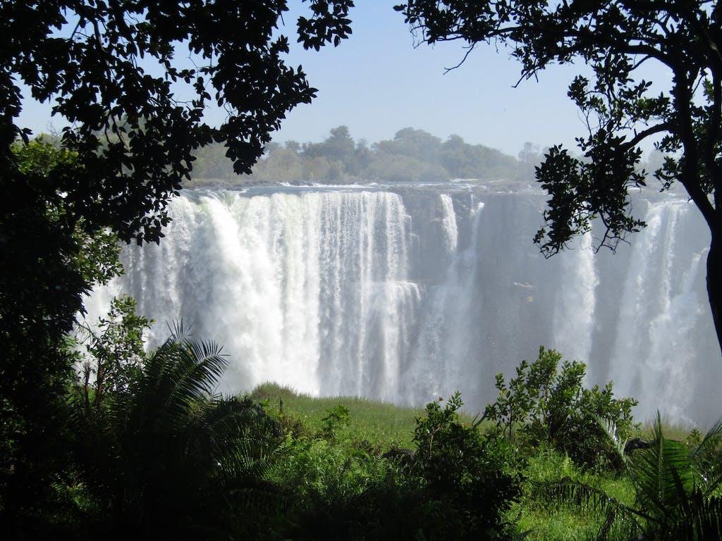 Victoria Falls 2020 Not Dry