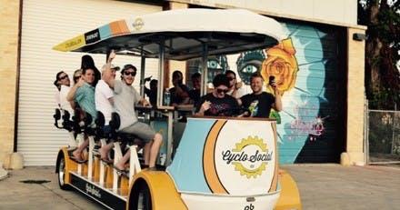 San Antonio Southtown Tour Cyclo Fiesta Co