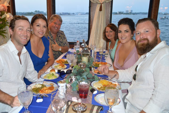 Perdido Queen Dinner guests