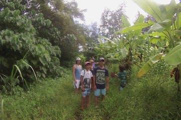 group of hikers oahu