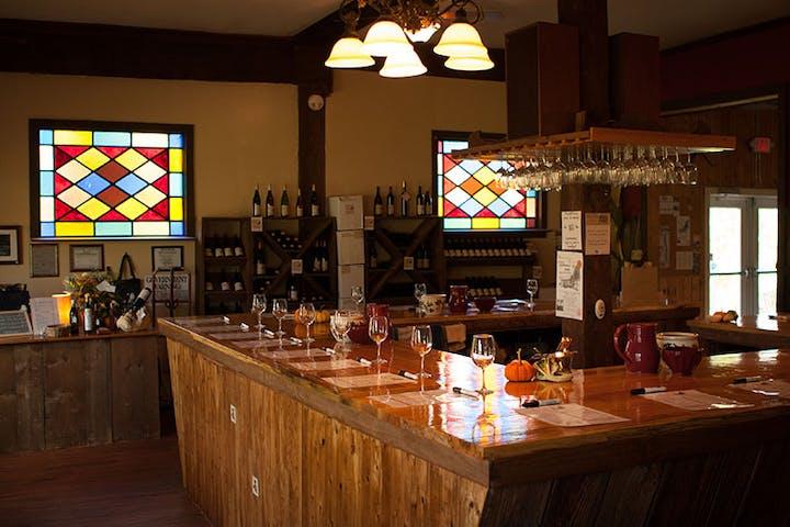 Barnstormer winery tasting room.