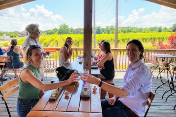 Cayuga Lake Wine Tasting With Couple