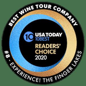 USA Today 10Best Wine Tour Company