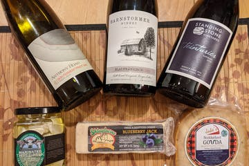 Finger Lakes virtual wine and cheese pairing