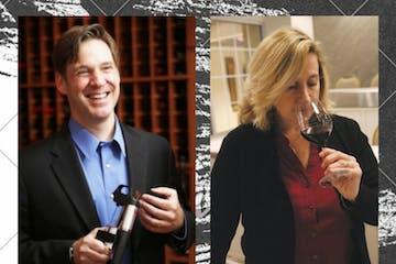 Laura Winter Falk and Greg Lambrecht