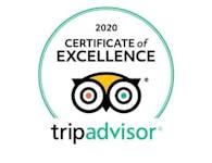 TripAdvisor 2020 certificate