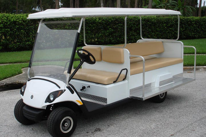 8 passenger golf cart