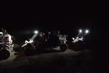 Tomcar desert night adventure with Desert Wolf Tours