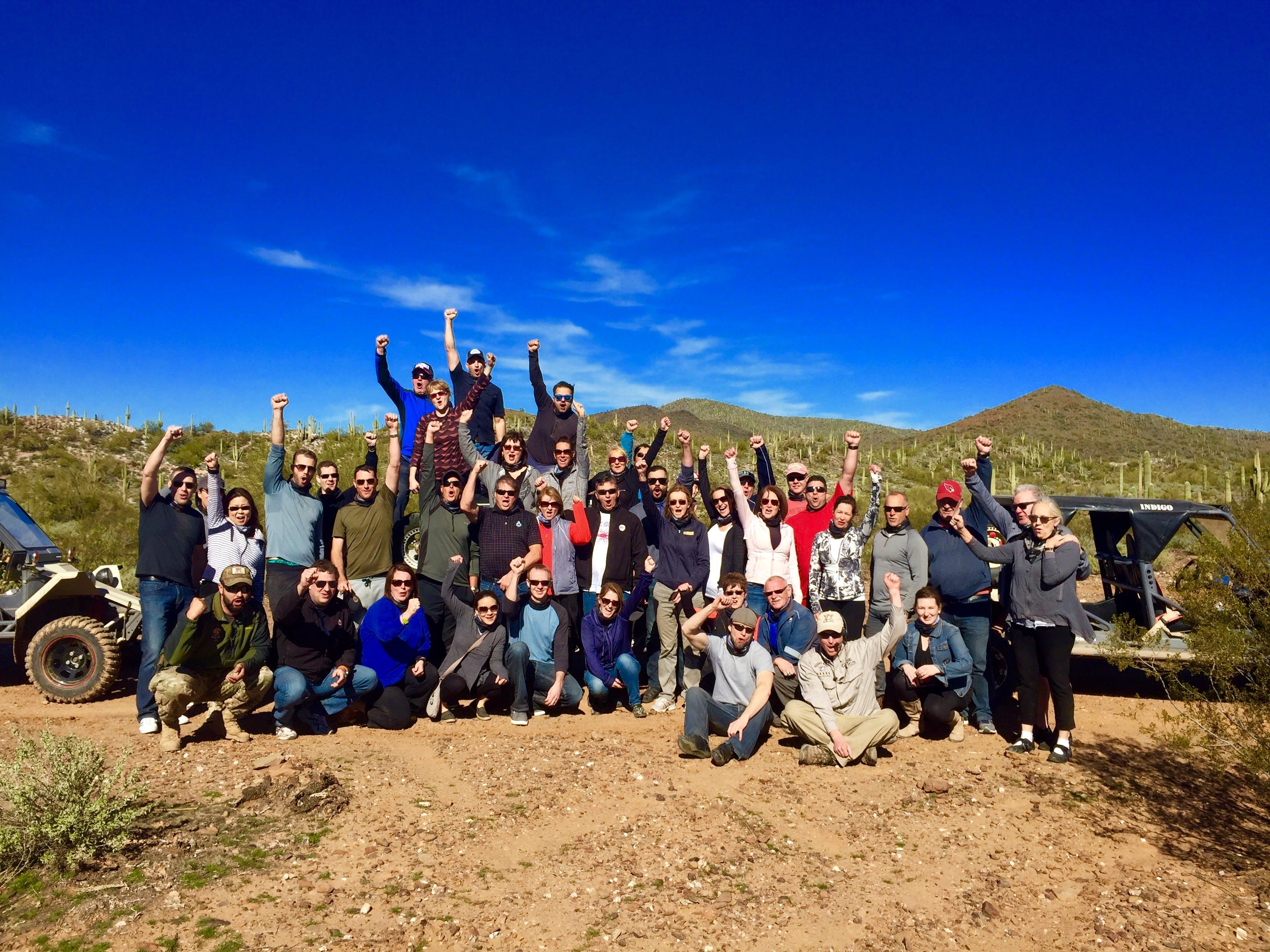 Group Team Building In Scottsdale Phoenix Desert Wolf Tours