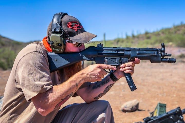 Desert ATV Tour and Machine Gun Adventure   Desert Wolf Tours