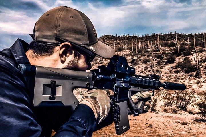Desert ATV Tour and Machine Gun Adventure | Desert Wolf Tours