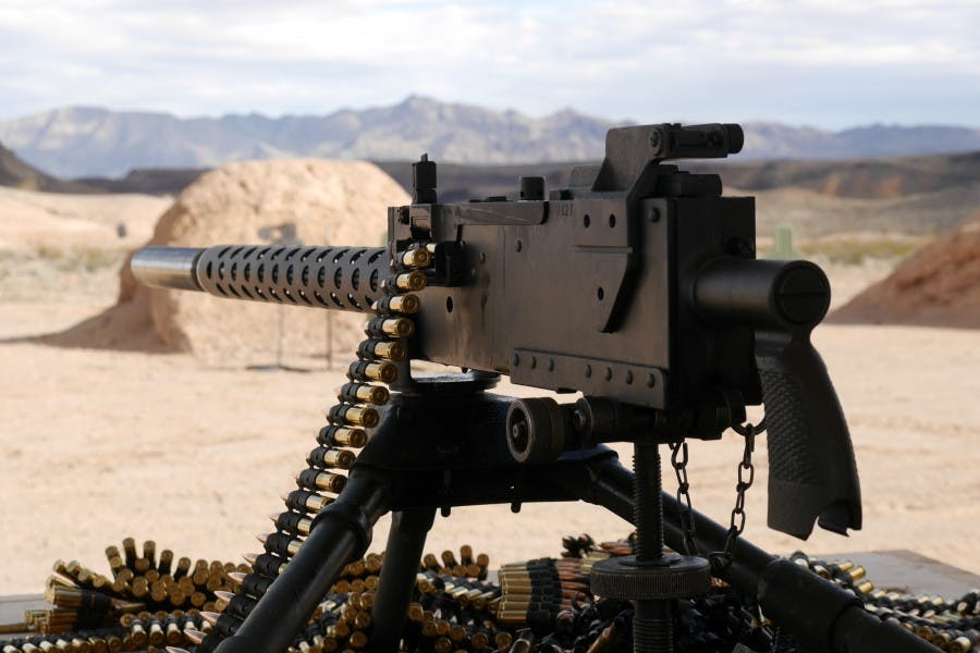 M1919-desert Wolf Tours Browning Machine Gun