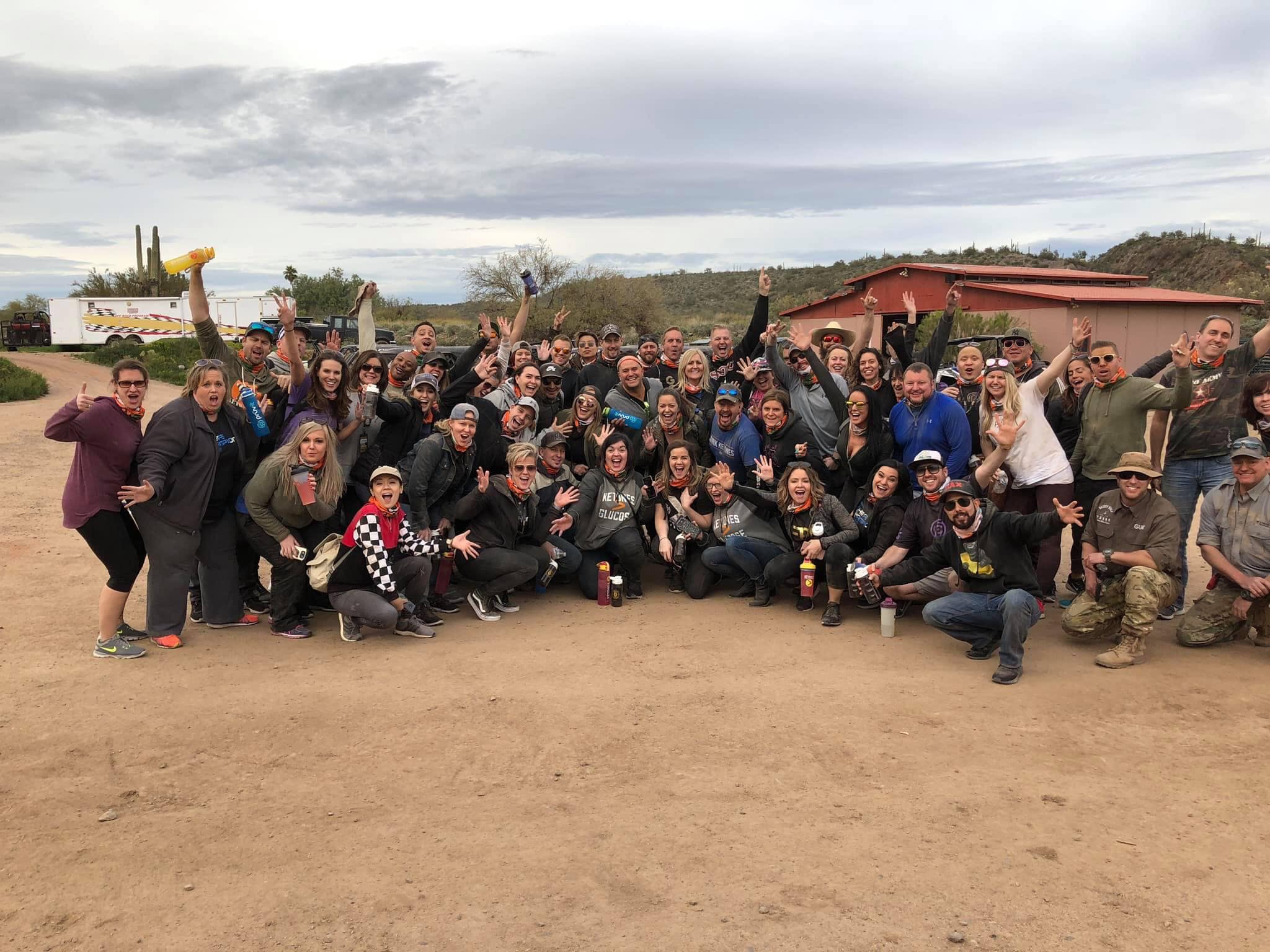 Team Building Desert Wolf Tours style