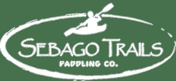 sebago trails logo white