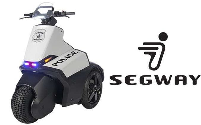 Segway with Police written on side