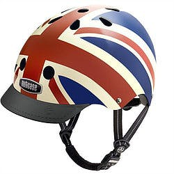 Nutcase helmet with Great Britain flag