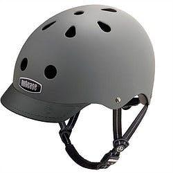 Dark gray Nutcase bike helmnet