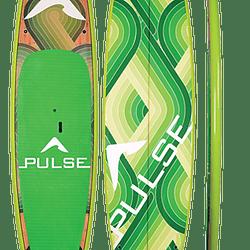 PULSE The Throwback green paddleboard