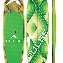 PULSE The Throwback green paddleboard